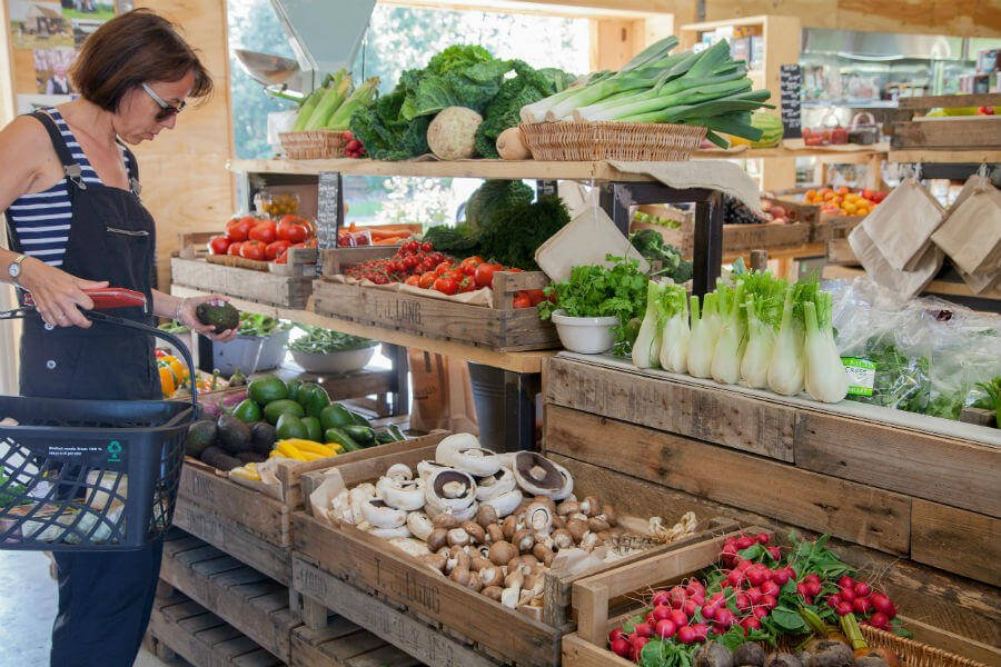 Fruit and Vegetables Shop - Customer